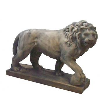 ANM-012 Lion Walking with ball, small, right