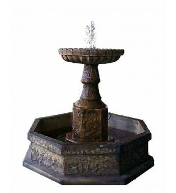 FTN-031 Spanish Octagonal Fountain, small